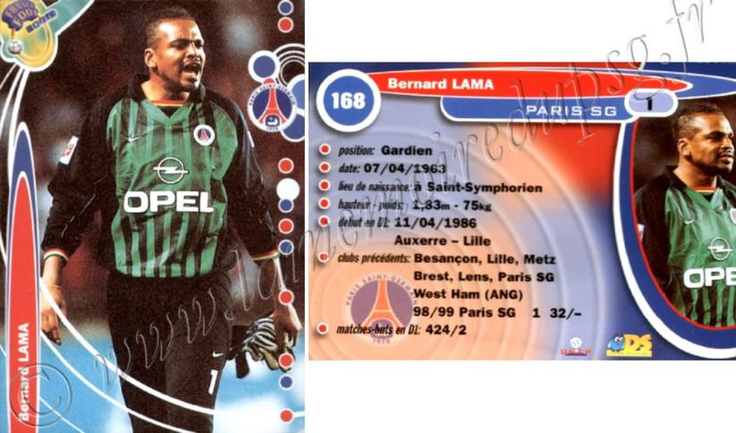 N° 168 - Bernard LAMA