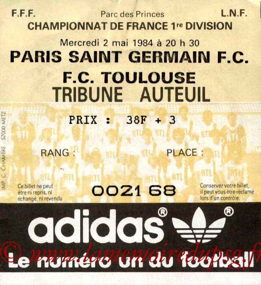 1984-05-02  PSG-Toulouse (38ème D1)