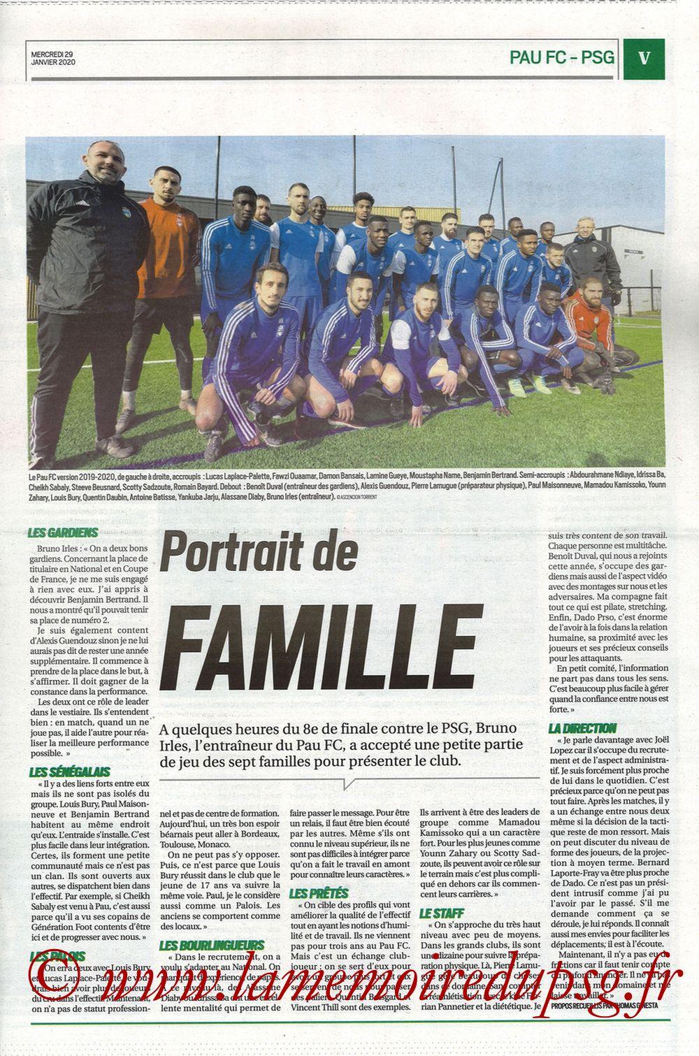 2020-01-29  Pau-PSG (8ème CF, Pyrenees Sports) - Page 05
