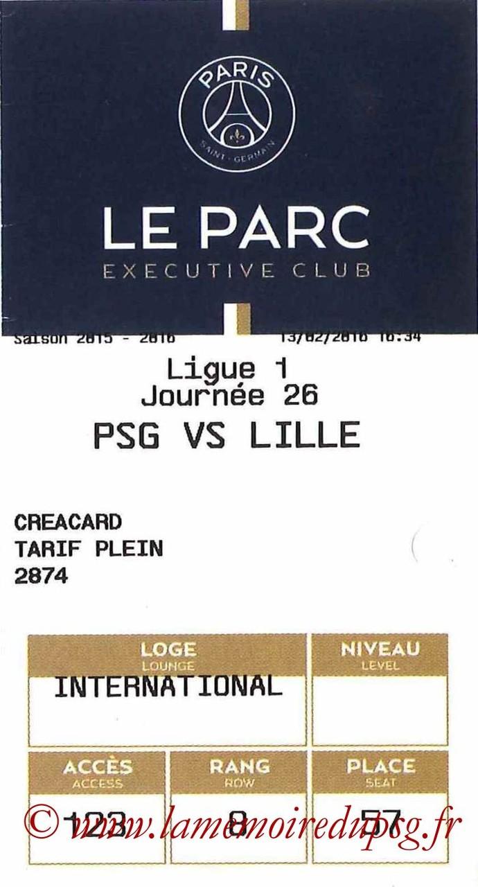 2016-02-13  PSG-Lille (26ème L1, E-ticket Executive club)