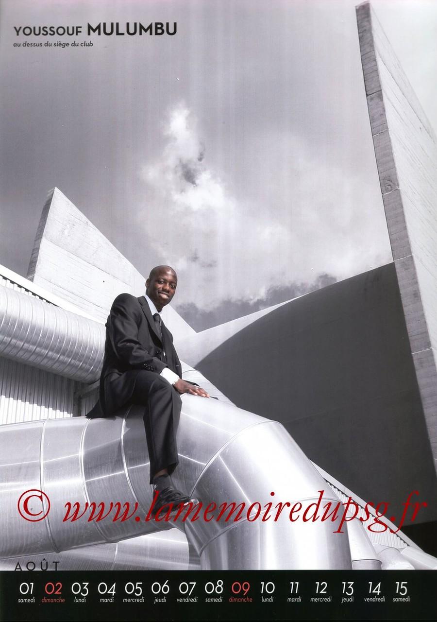 Calendrier PSG 2009 - Page 15 - Youssouf MULUMBU