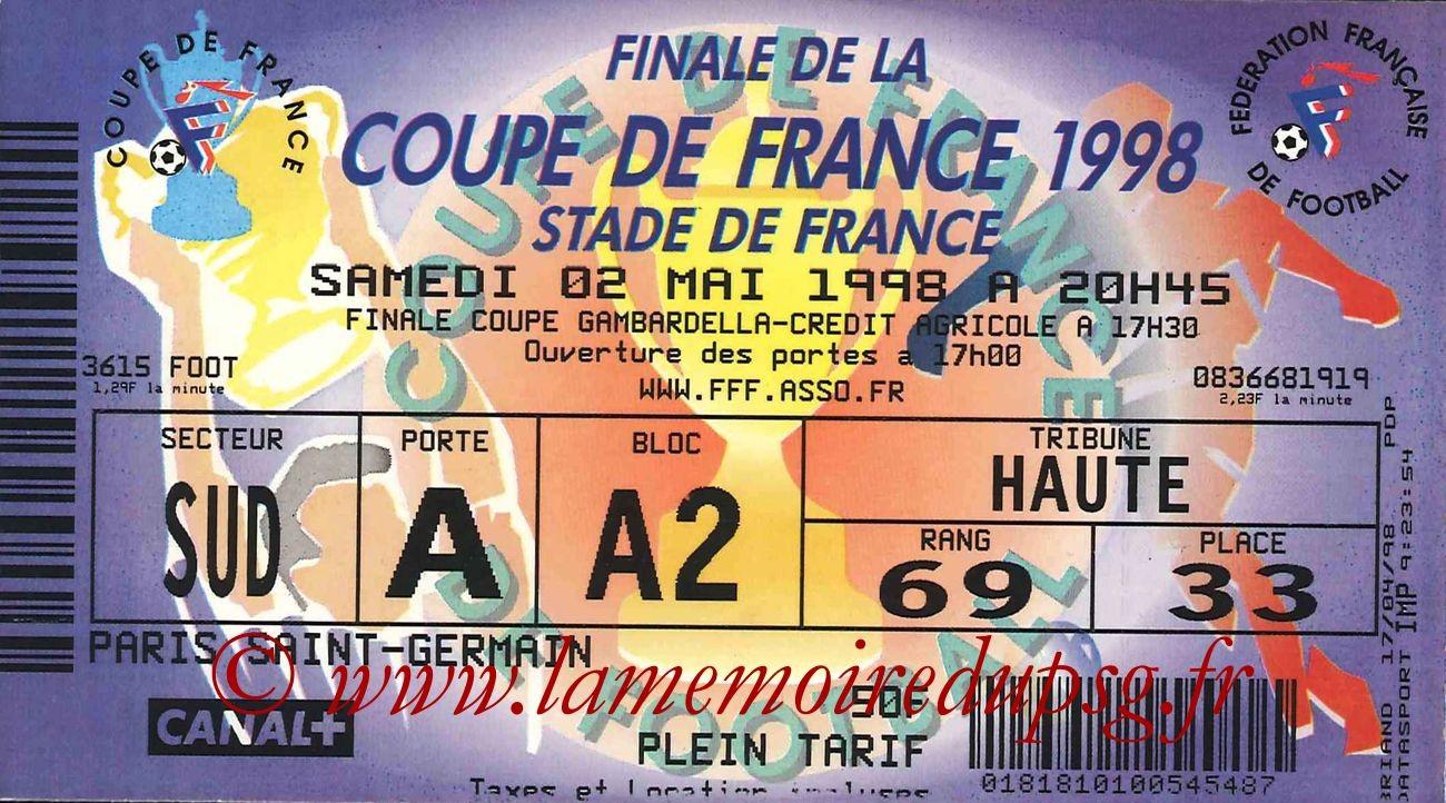 1998-05-02  PSG-Lens (Finale CF au Stade de France)