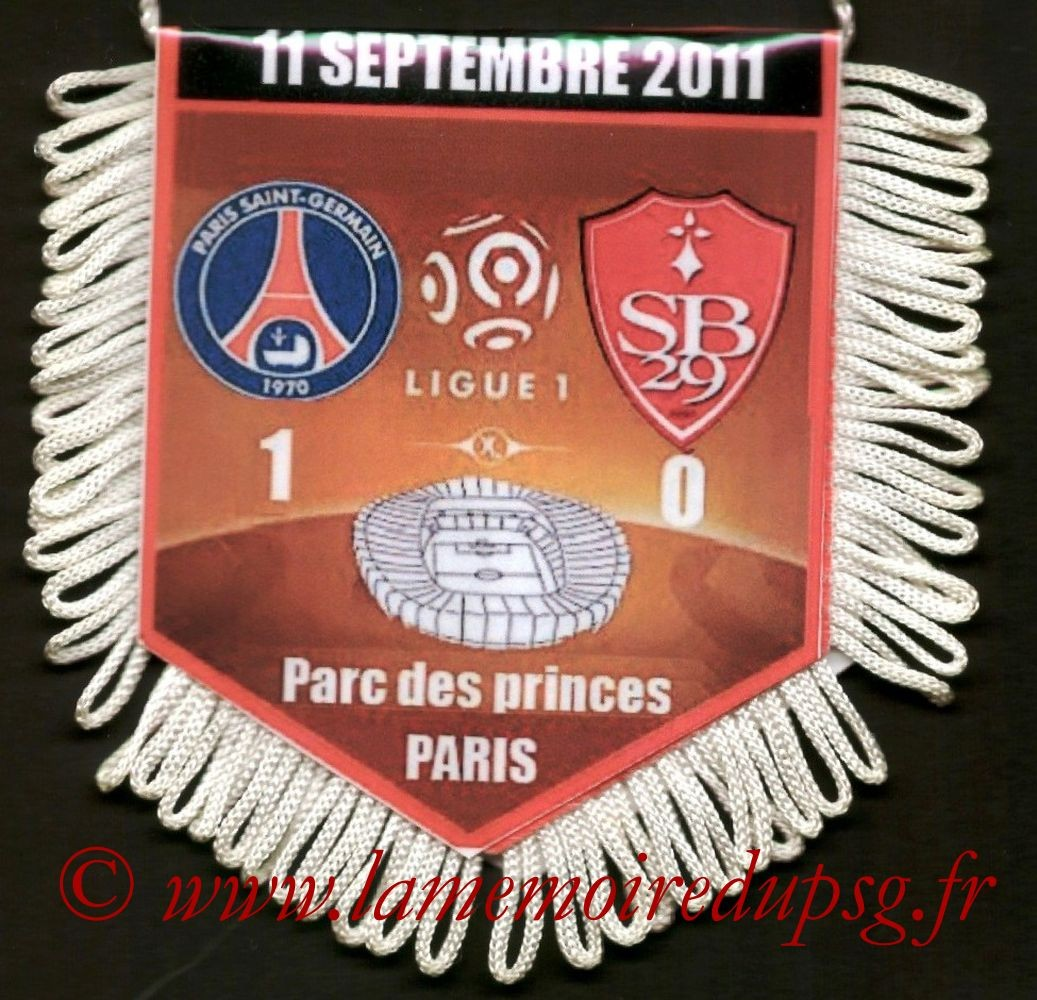 2011-09-11  PSG-Brest (5ème L1)