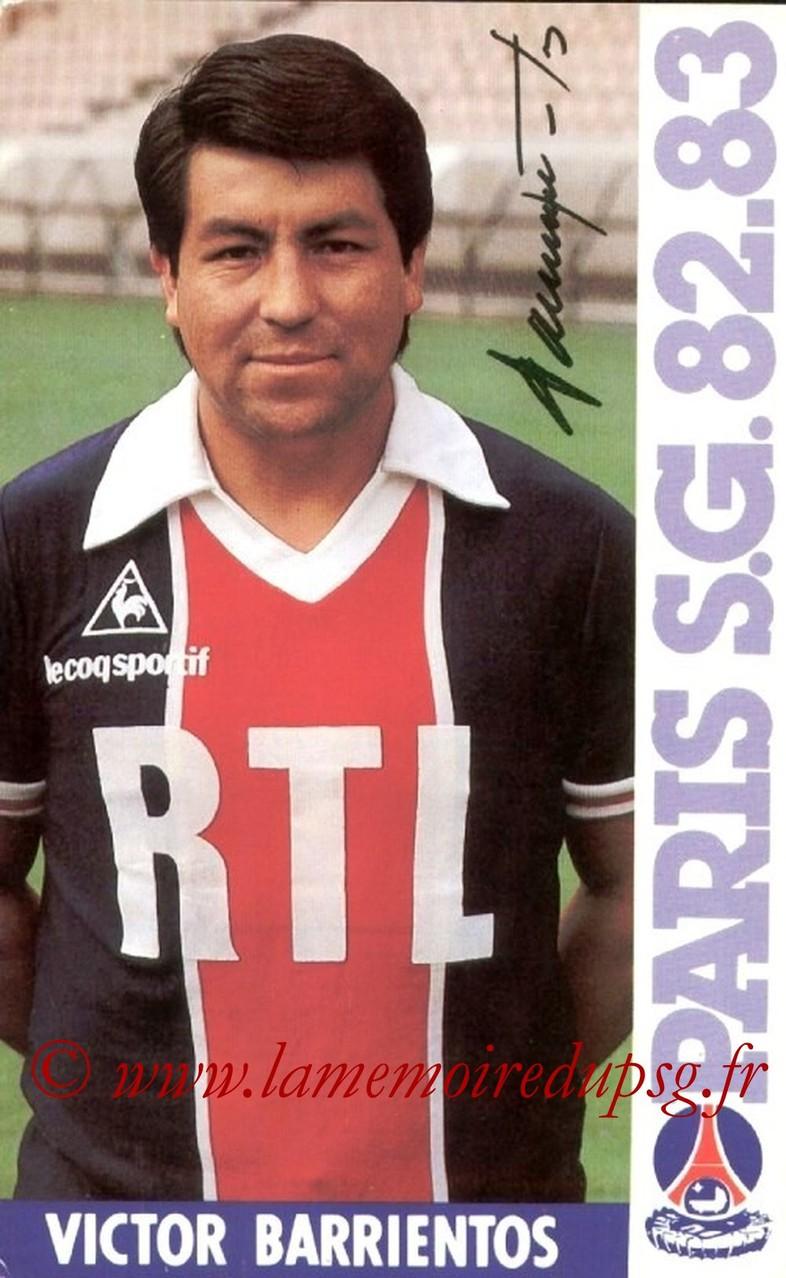 BARRIENTOS Victor  82-83