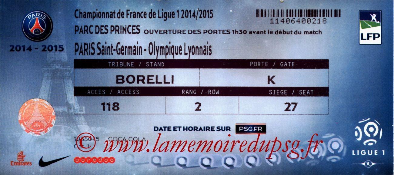 2014-09-21  PSG-Lyon (6ème L1)