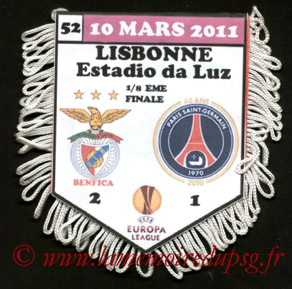 2011-03-10  Benfica-PSG (8ème Finale Aller C3)