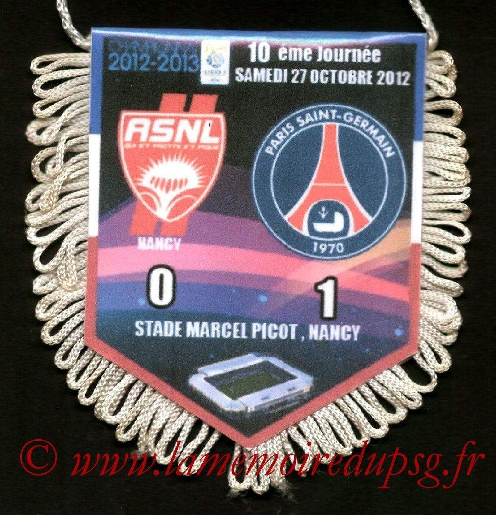 2012-10-27  Nancy-PSG (10ème L1)