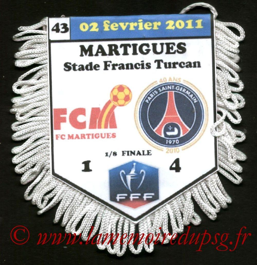 2011-02-02  Martigues-PSG (8ème Finale CF)