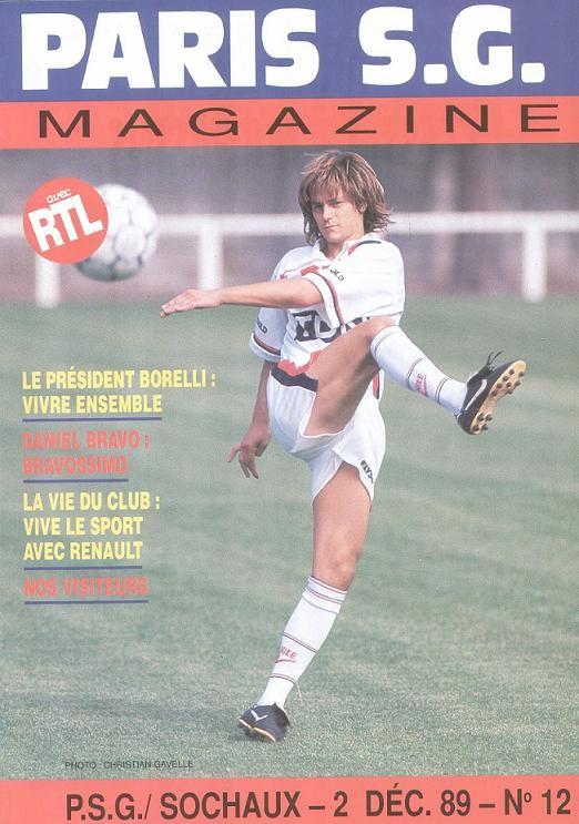1989-12-02  PSG-Sochaux (21ème D1, Paris SG Magazine N°12)