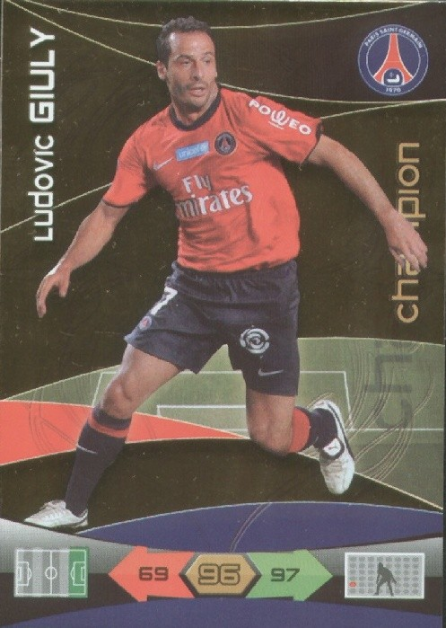 N° 210 - Ludovic GIULY (Champions)