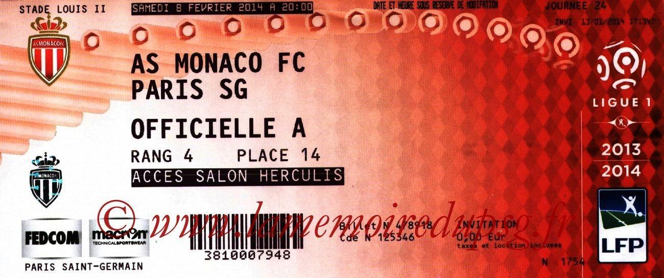 2014-02-08  Monaco-PSG (24ème L1)