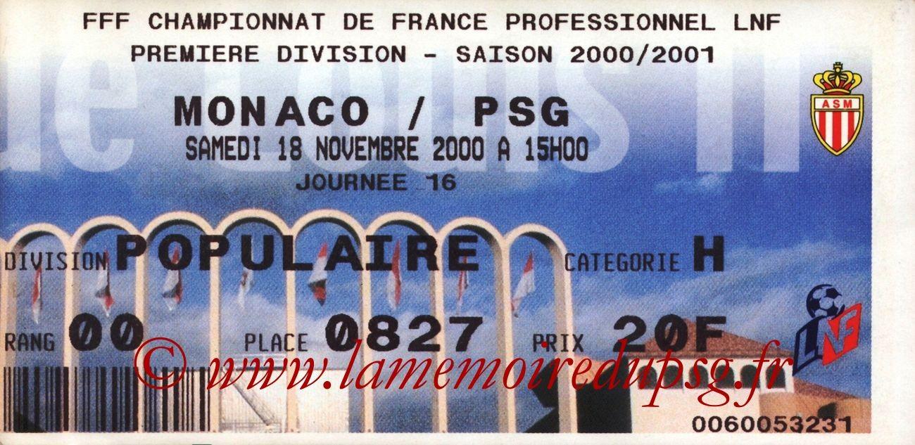 2000-11-18  Monaco-PSG (16ème D1)