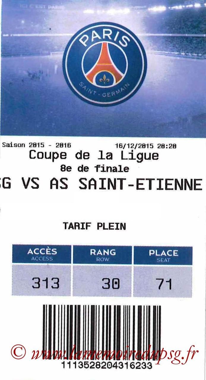 2015-12-16  PSG-Saint Etienne (8ème CL, E-ticket)