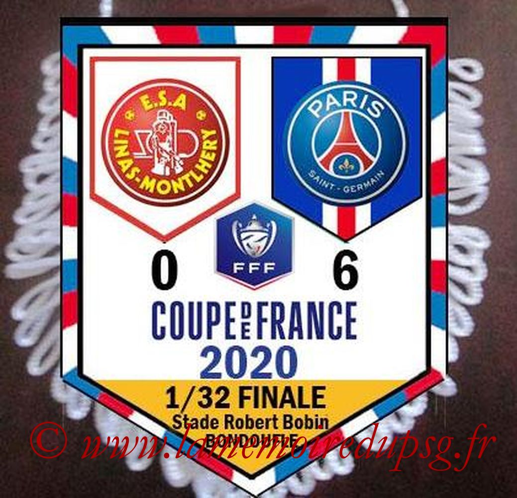 2020-01-05  Linas Montlhery-PSG (32ème CF)