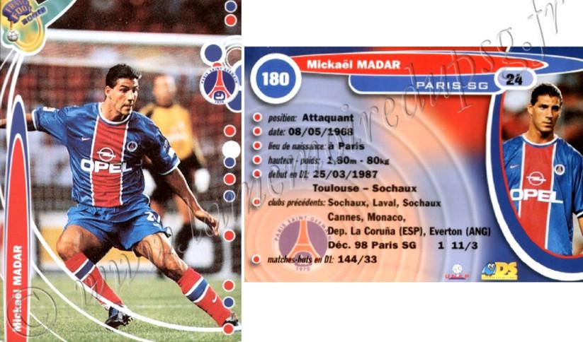 N° 180 - Mickaël MADAR