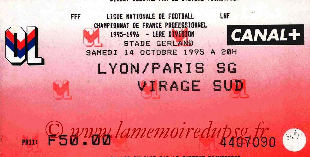 1995-10-14  Lyon-PSG (13ème D1)