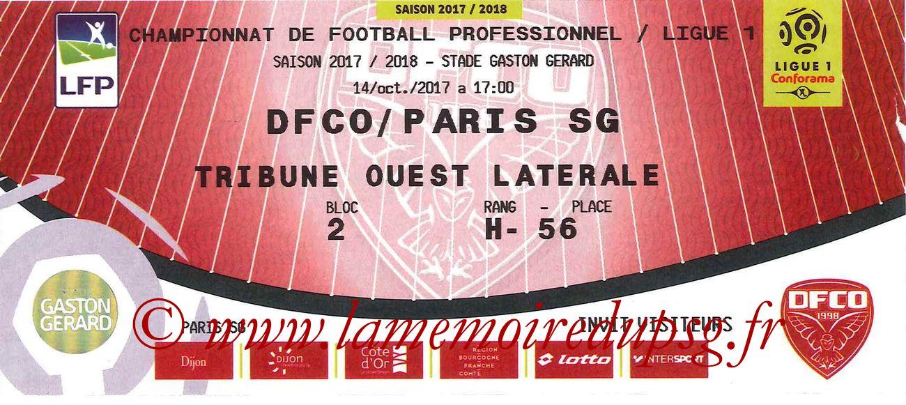 2017-10-14  Dijon-PSG (9ème L1)