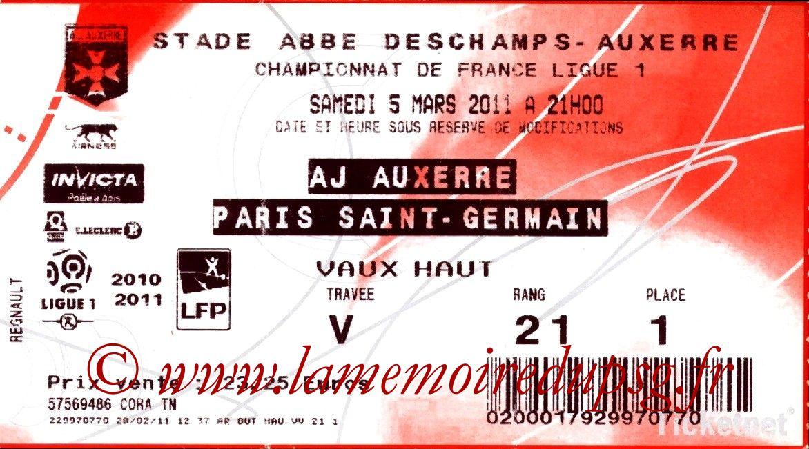 2011-03-05  Auxerre-PSG (26ème L1, Ticketnet)