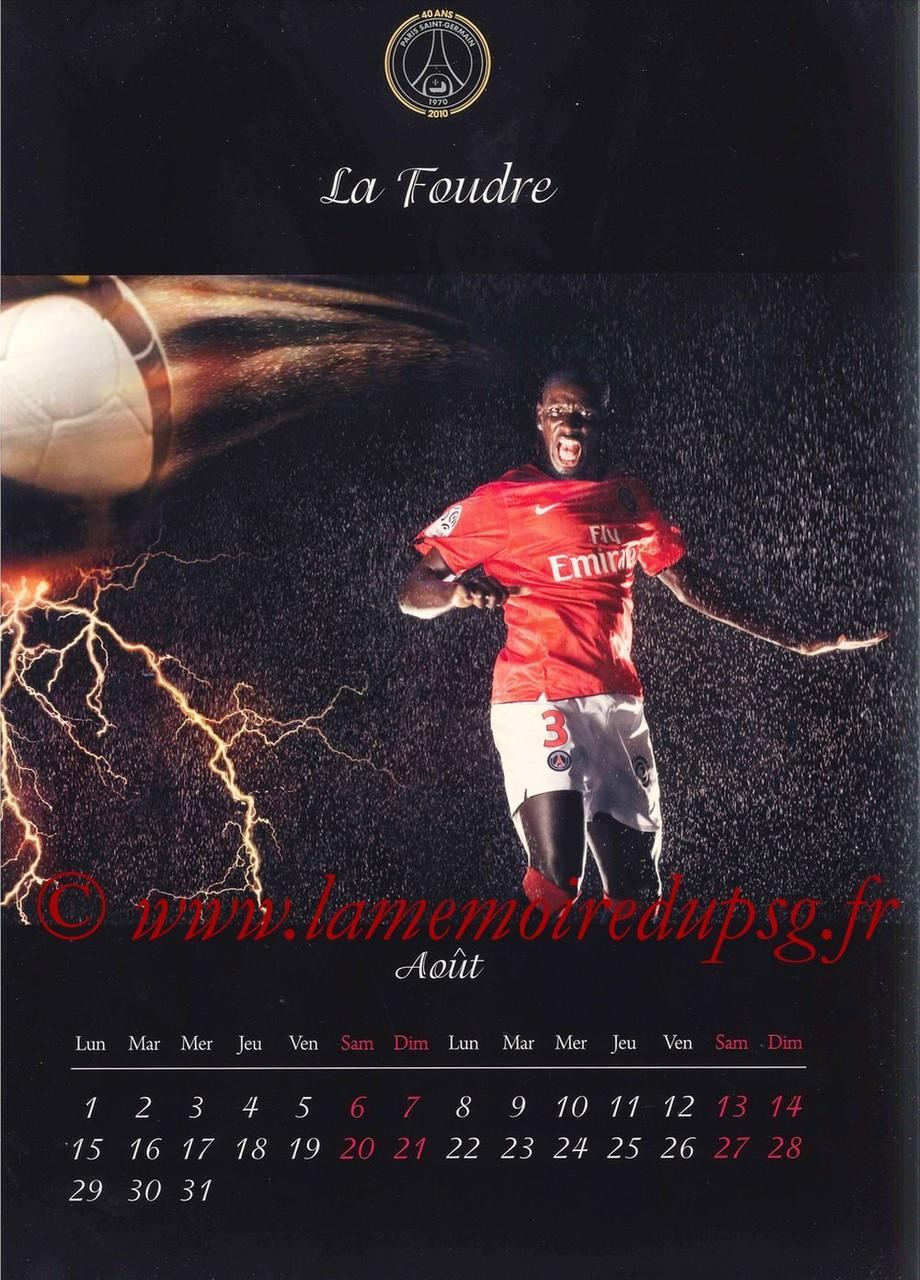 Calendrier PSG 2011 - Page 15 - La foudre