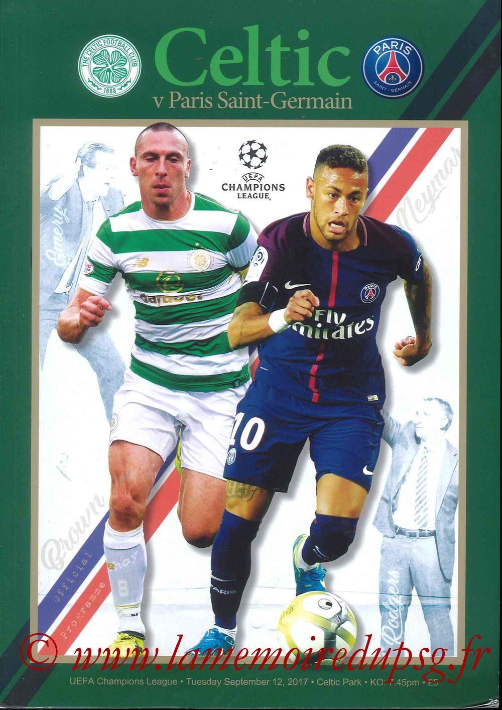 2017-09-12  Celtic-PSG (1ère C1)