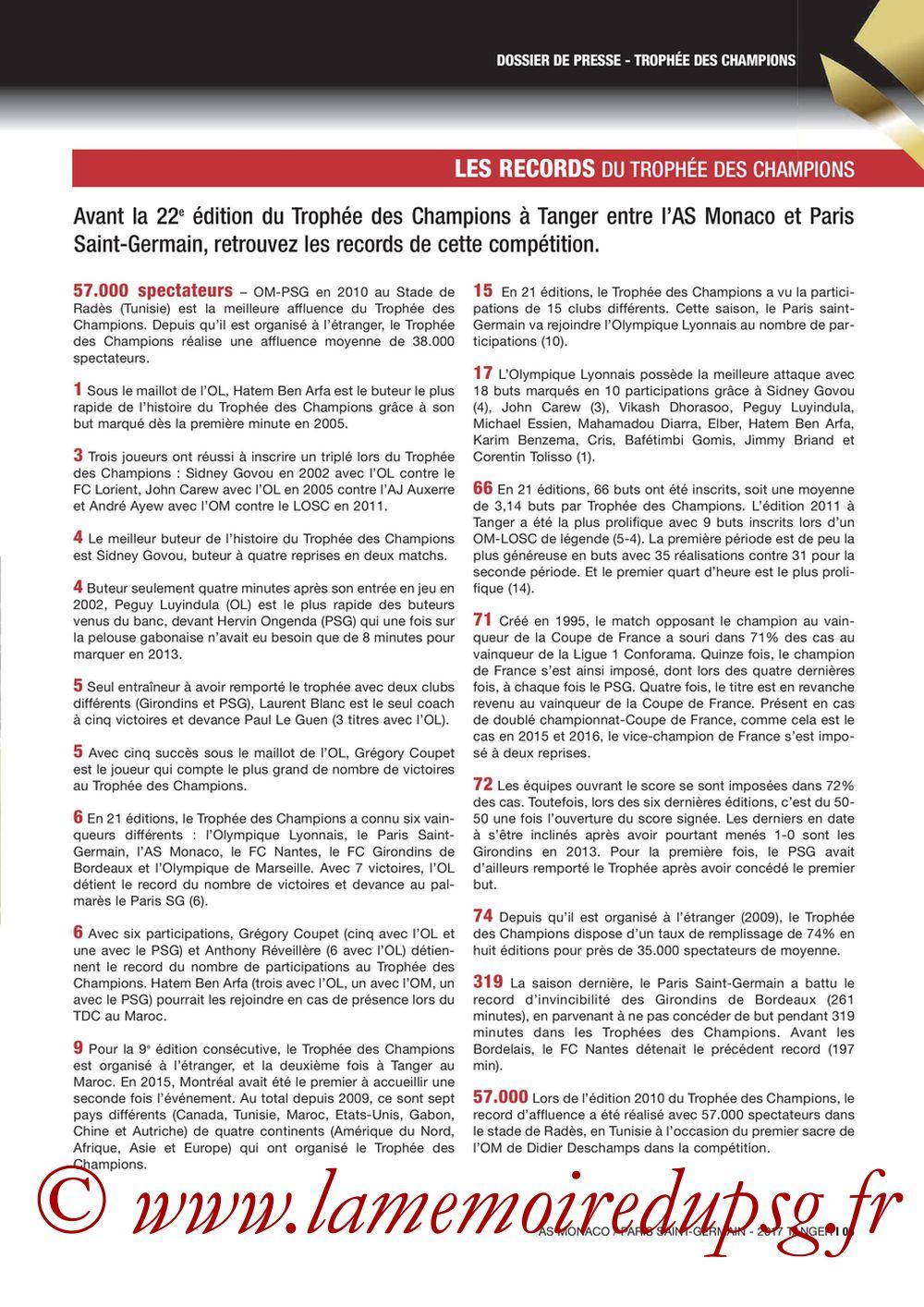 2017-07-29  Monaco-PSG (Trophée des Champions à Tanger, Dossier de Presse) - Page 05