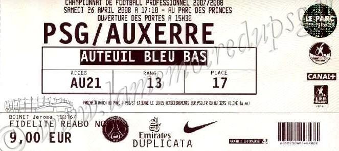 2008-04-26  PSG-Auxerre (35ème L1)