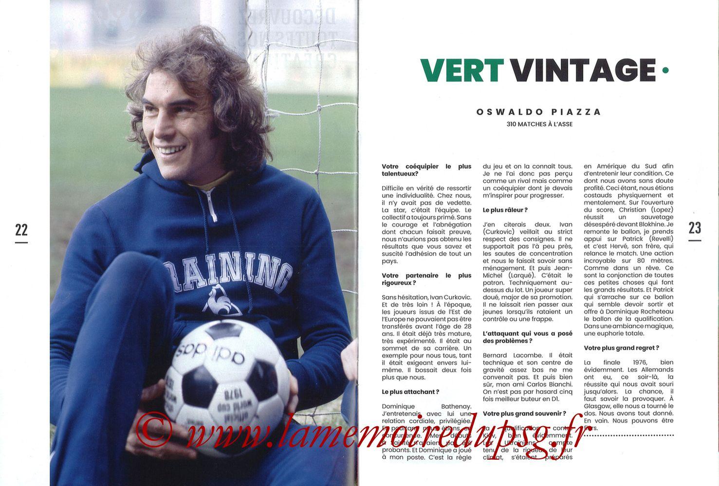 2019-12-15  Saint-Etienne (18ème L1, Maillot Vert N°31) - Pages 22 et 23