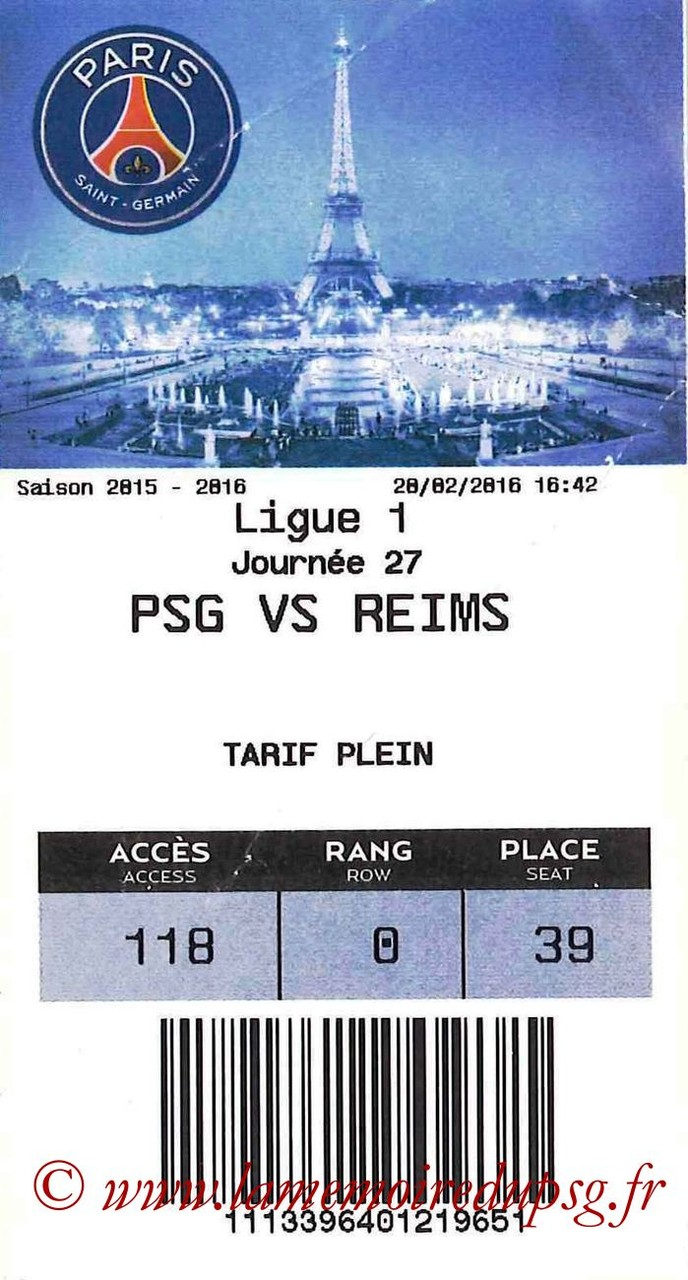 2016-02-20  PSG-Reims (27ème L1, E-ticket)