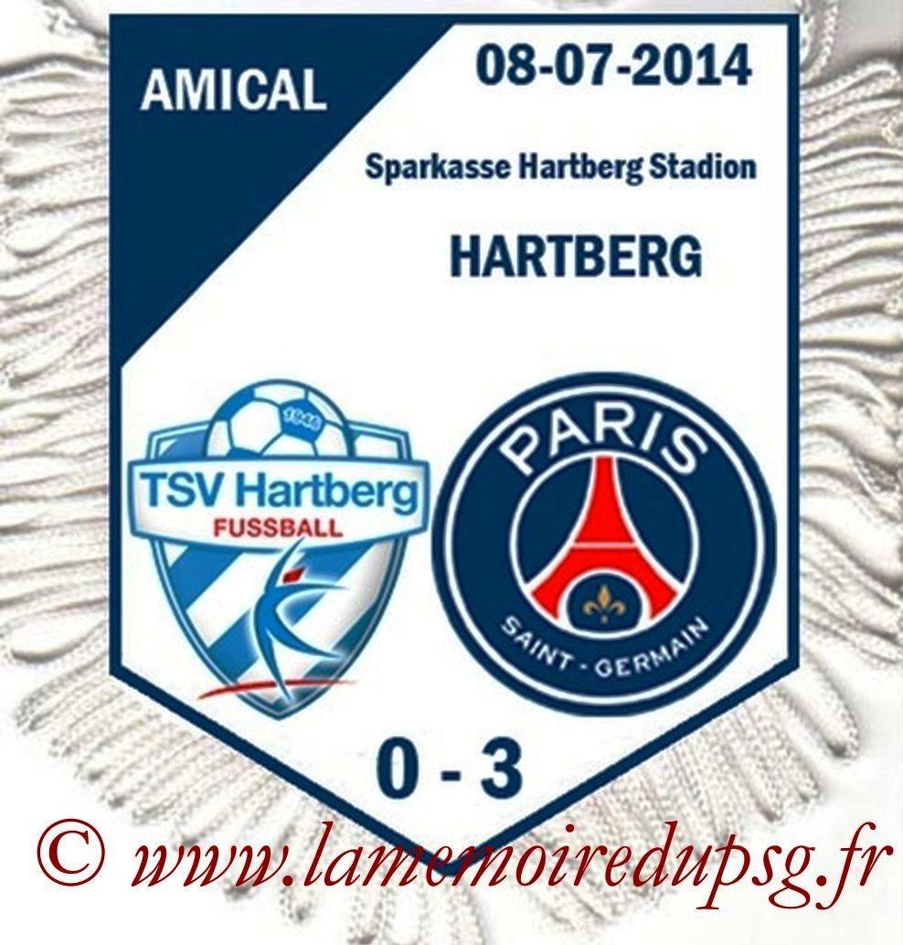 2014-07-08  Hartberg-PSG (Amical à Hartberg)