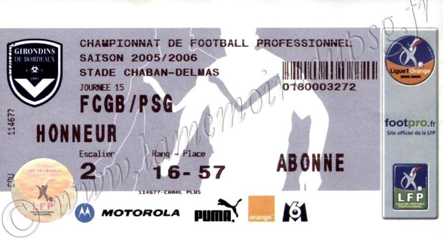 2005-11-20  Bordeaux-PSG (15ème L1)