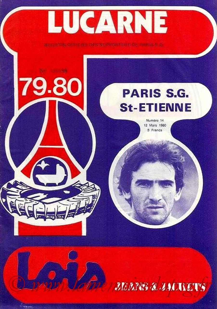 1980-03-12  PSG-Saint Etienne (28ème D1, Lucarne N°14)