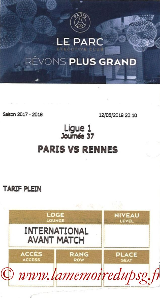 2018-05-12  PSG-Rennes (37ème L1, E-ticket Executive Club)
