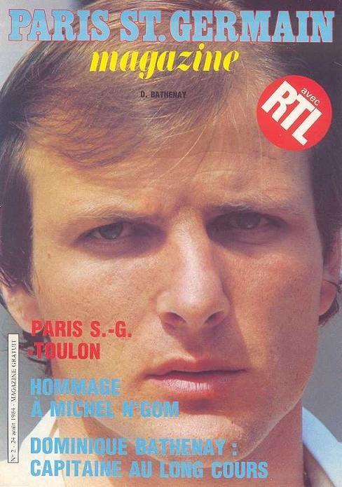 1984-08-24  PSG-Toulon (3ème D1, Paris SG Magazine N°2)