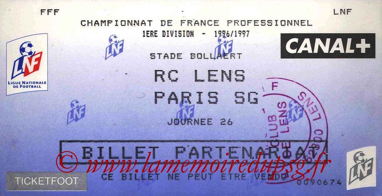 1997-02-13  Lens-PSG (26ème D1)