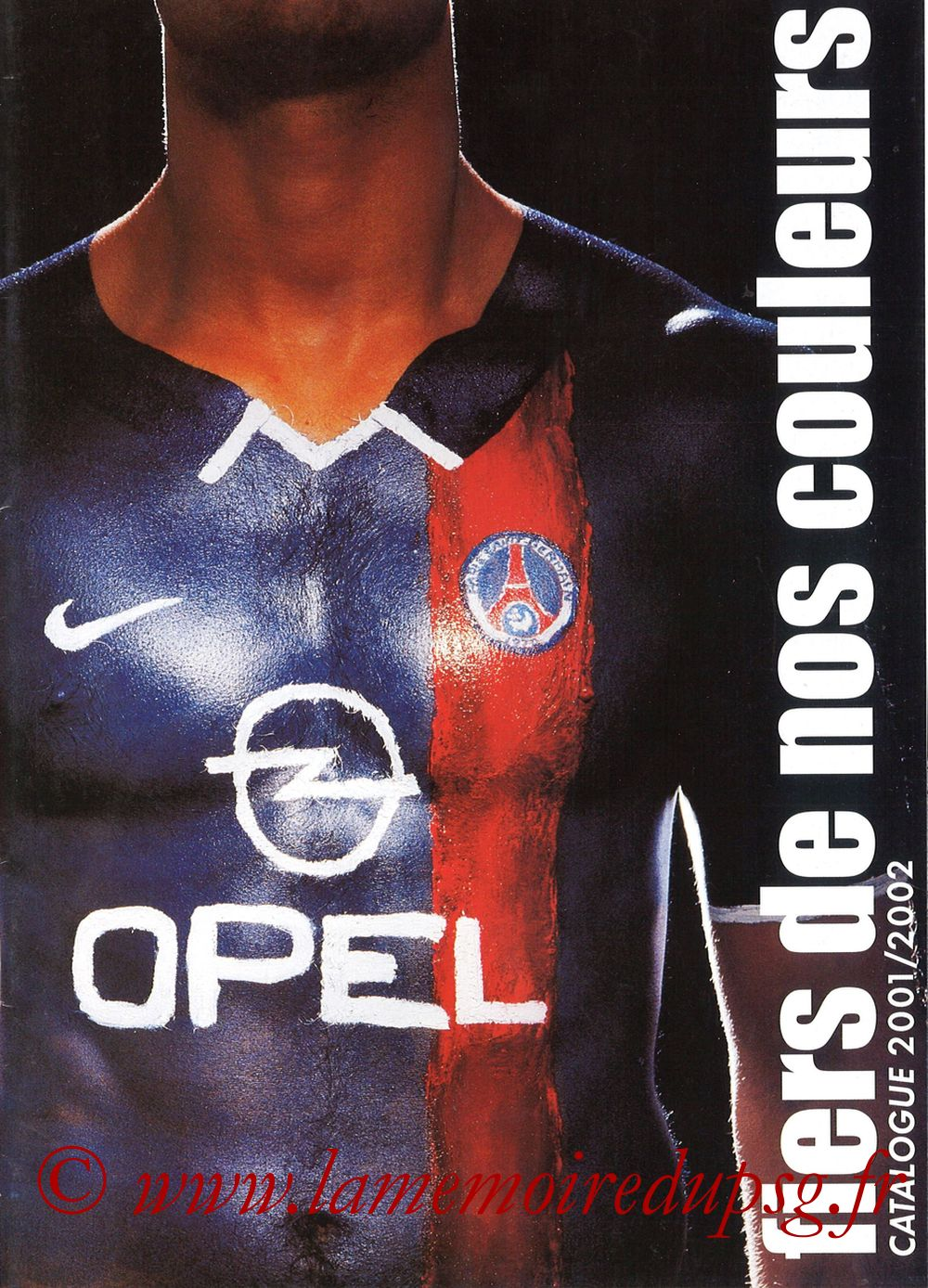 Catalogue PSG - 2001-02