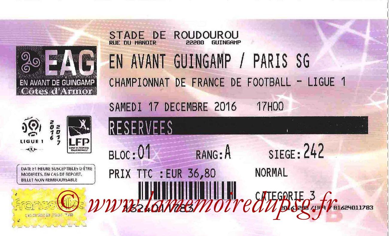 2016-12-17  Guingamp-PSG (18ème L1, Francebillet)