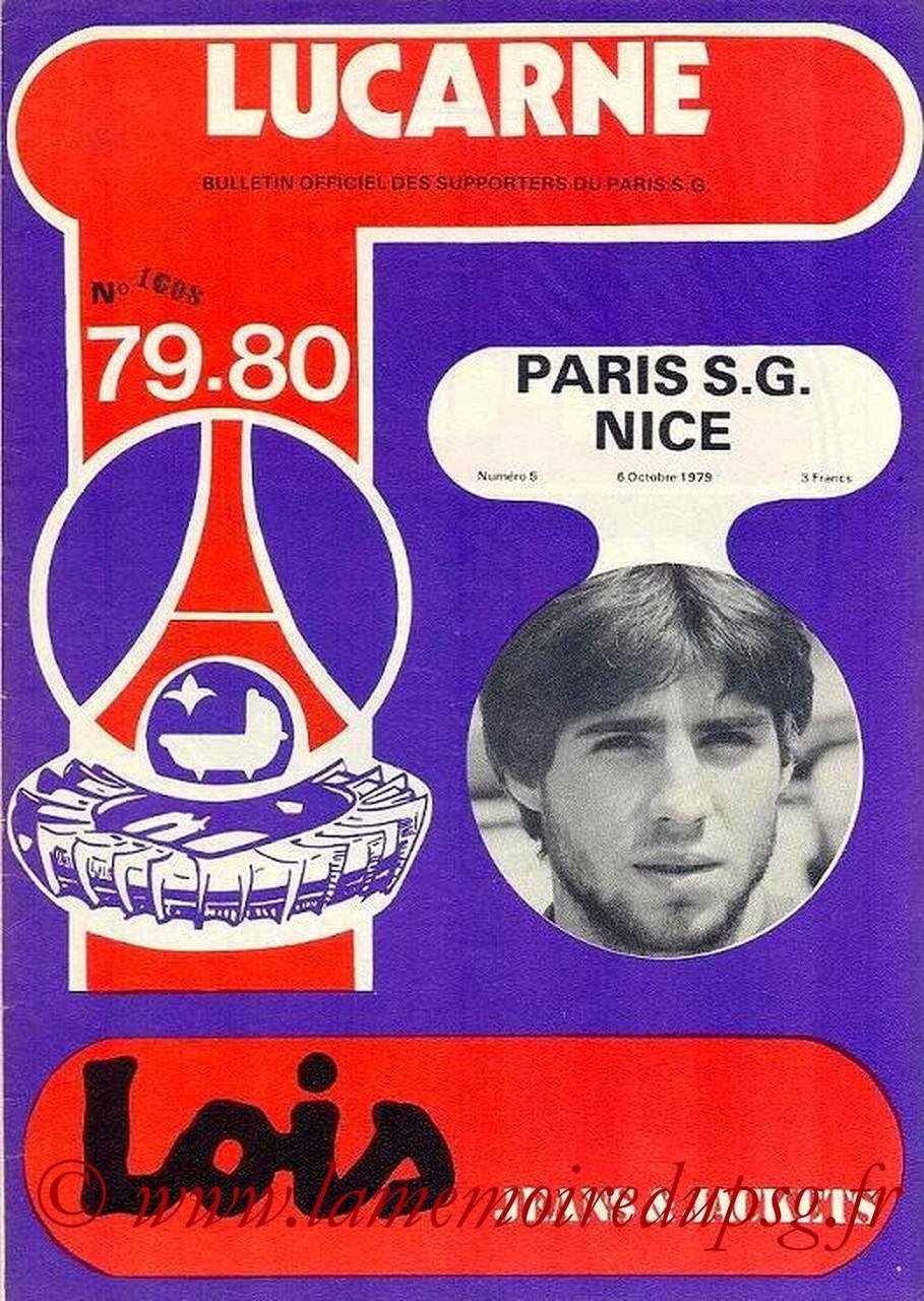 1979-10-06  PSG-Nice (11ème D1, Lucarne N°5)
