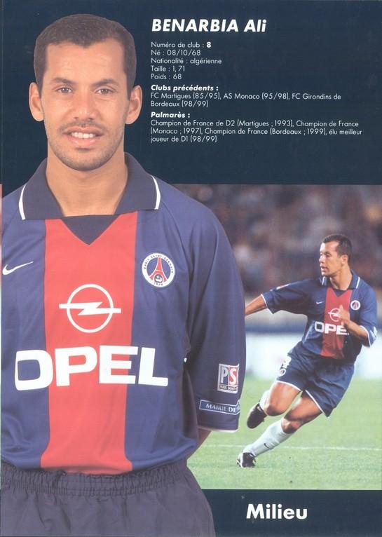 2000-01 - BENARBIA Ali