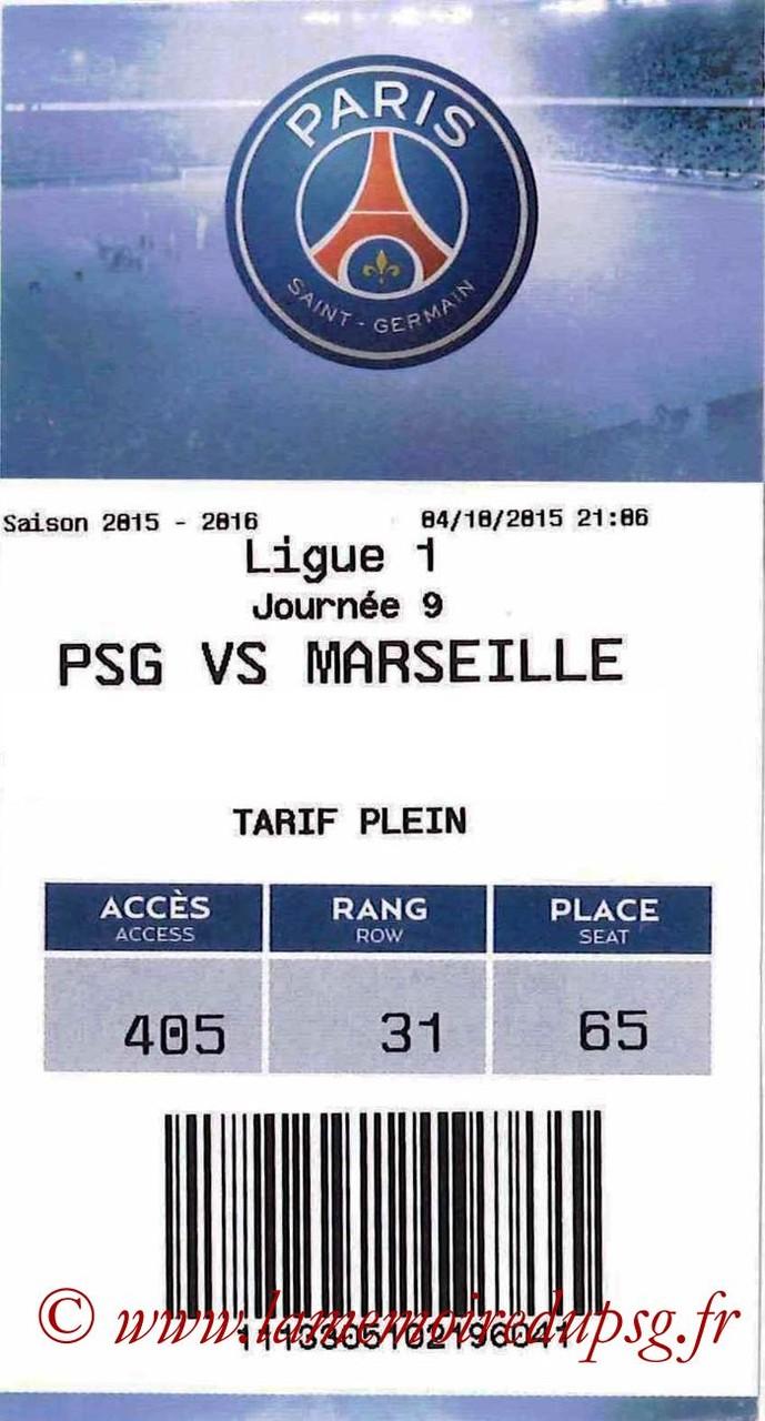 2015-10-04  PSG-Marseille (9ème L1, E-ticket)