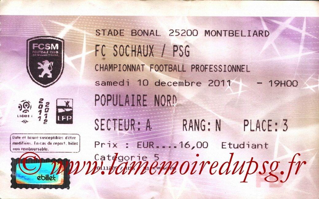 2011-12-10  Sochaux-PSG (17ème L1, Francebillet)