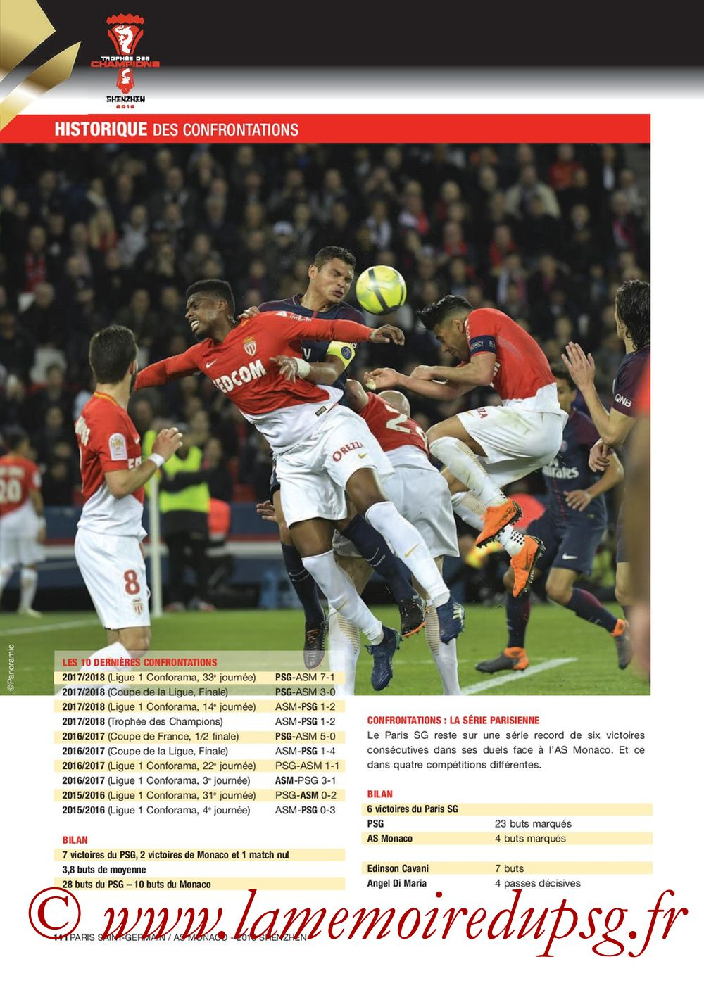 2018-08-04  PSG-Monaco (Trophée des Champions à Shenzhen, Dossier de Presse) - Page 14