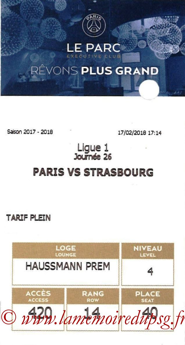 2018-02-17  PSG-Strasbourg (26ème L1, E-ticket Executive club)