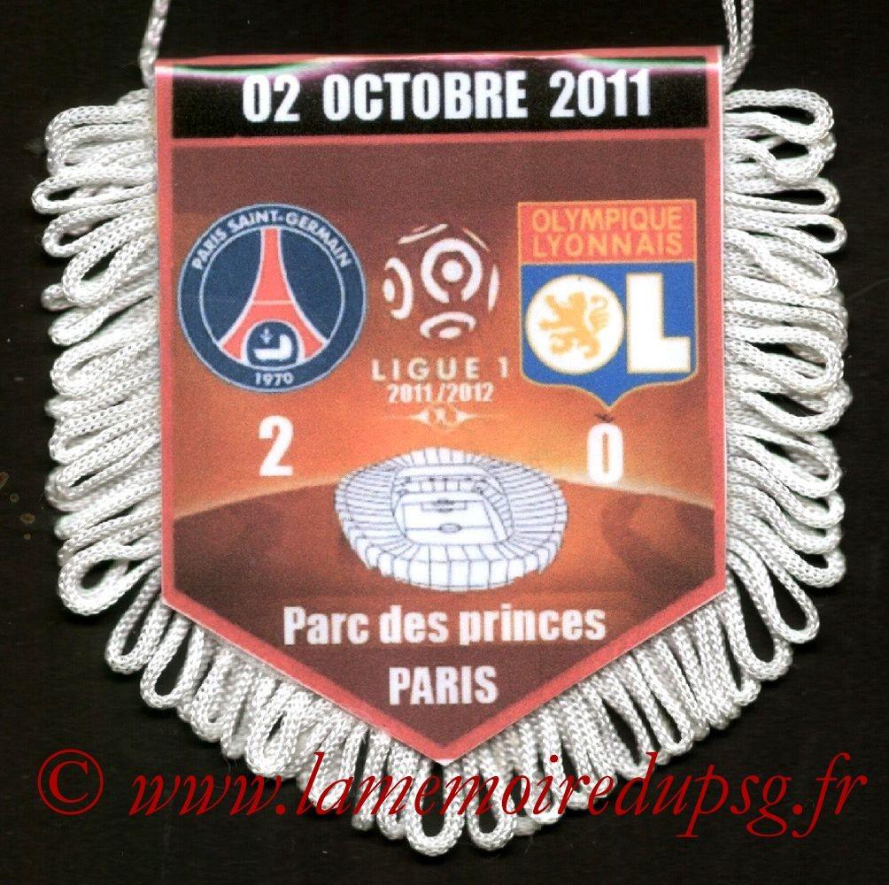 2011-10-02  PSG-Lyon (9ème L1)