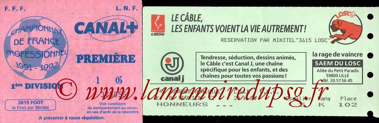 1992-02-08  Lille-PSG (28ème D1)