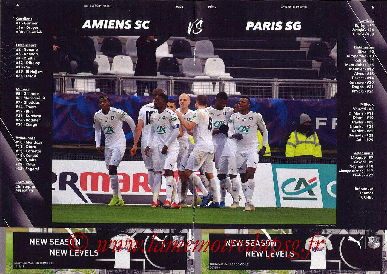 2019-01-12  Amiens-PSG (20ème L1, Zone mixte N°9) - Pages 05 et 06