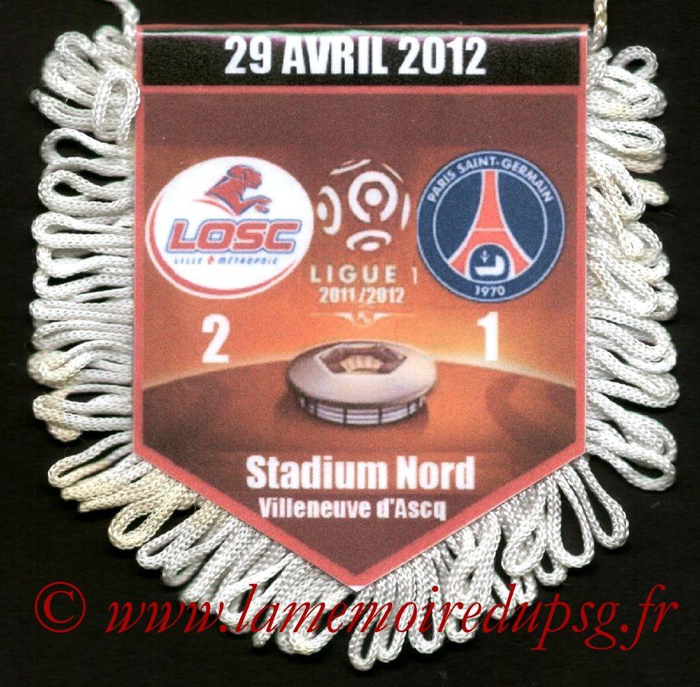 2012-04-29  Lille-PSG (34ème L1)