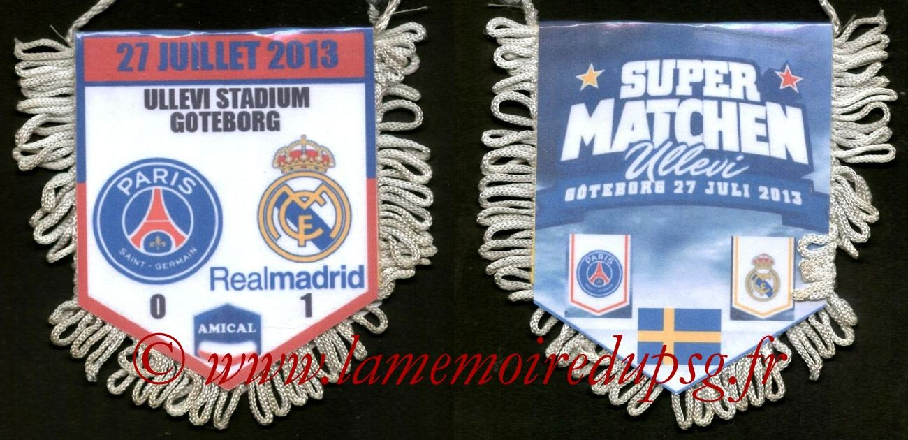 2013-07-27  PSG-Real Madrid (Amical à Goteborg)