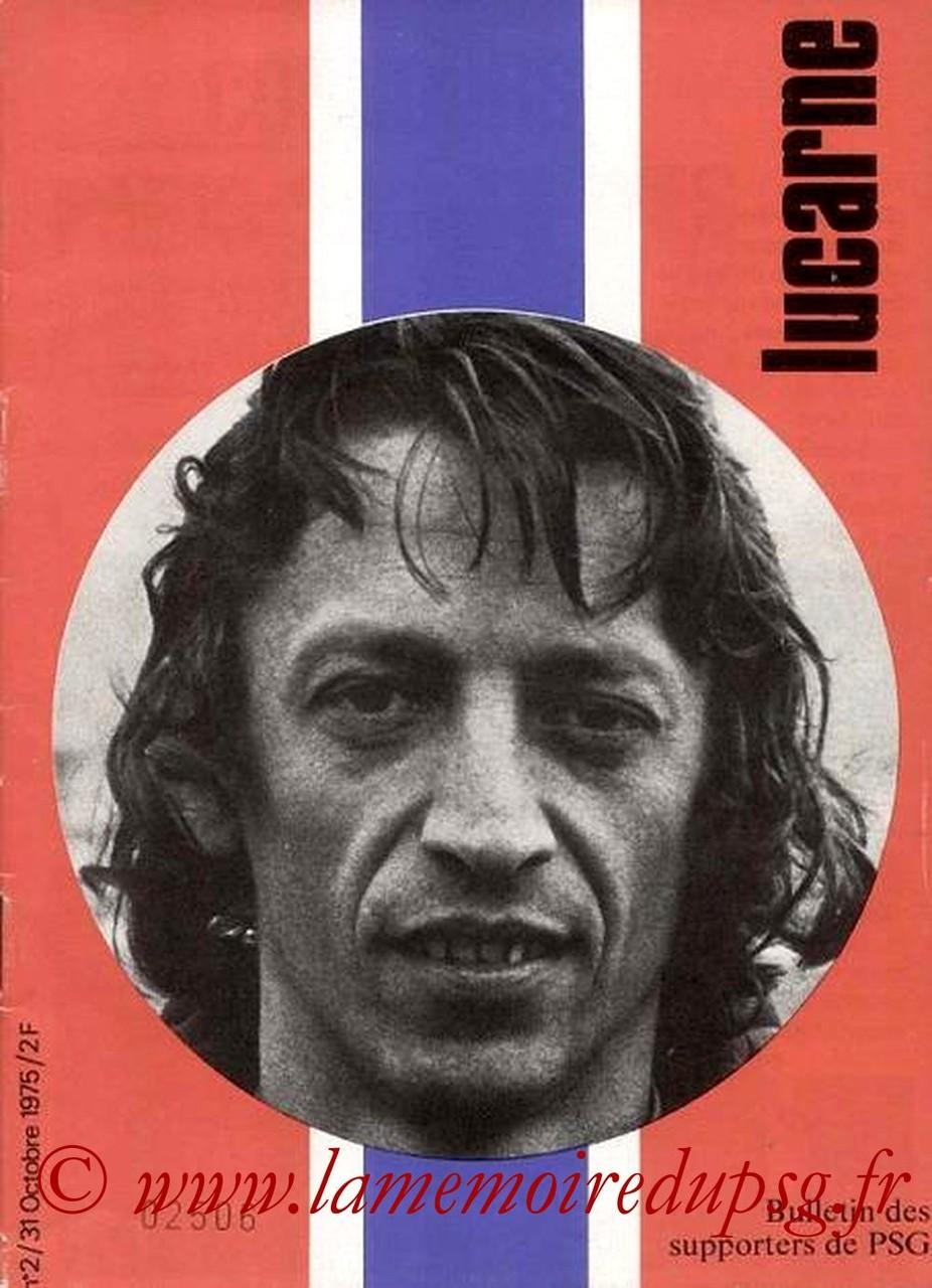 1975-10-31  PSG-Troyes (12ème D1, Lucarne N°2)