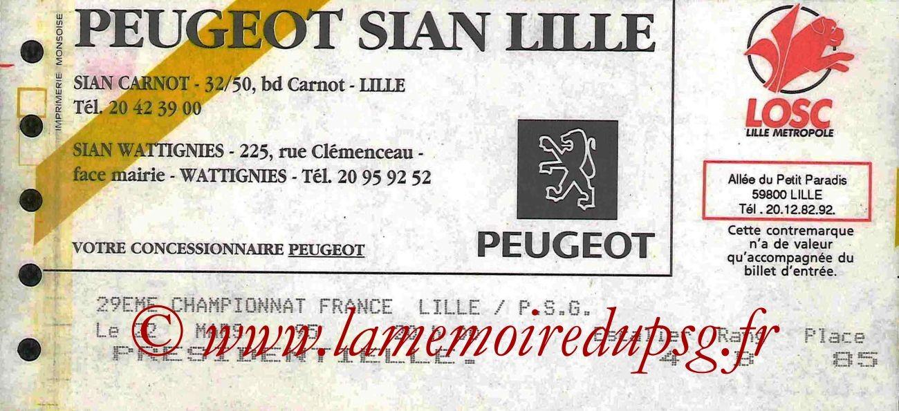 1995-03-22  Lille-PSG (30ème D1)