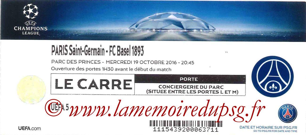 2016-10-19  PSG-FC Bale (3ème C1, Carré)